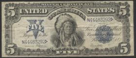 USA / United States P.340 5 Dollars Silver Certificate 1899 (3-)