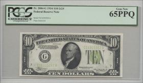USA / United States P.430D 10 Dollars 1934 (1) G16305062A