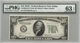 USA / United States P.430Dc 10 Dollars 1934 C (1)