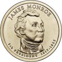 USA 1 Dollar 2008 05. Monroe