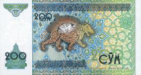 Usbekistan / Uzbekistan P.80 200 Sum 1997 (1)