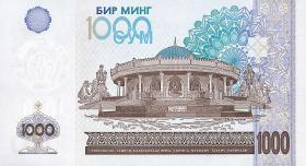 Usbekistan / Uzbekistan P.82 1000 Sum 2001 (1)