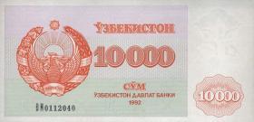 Usbekistan / Uzbekistan P.72 10000 Sum 1992 (1)