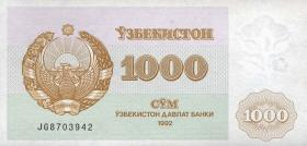 Usbekistan / Uzbekistan P.70 1000 Sum 1992 (1)