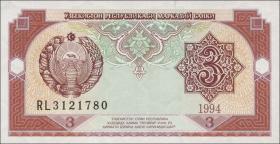 Usbekistan / Uzbekistan P.74 3 Sum 1994 (1)