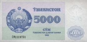 Usbekistan / Uzbekistan P.71 5000 Sum 1992 (1)