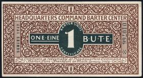 US Headquarters Frankfurt 1 B.U.T.E. 1947 Serie II (1-)