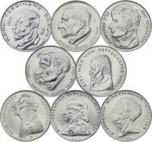 """Serie """"Deutsche Persönlichkeiten"""" - 8 DDR-Medaillen V-28 - v-35"""