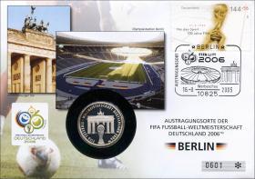 V-055 • Austragungsorte Fußball WM - Berlin