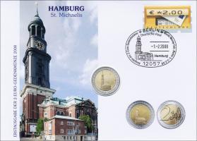 V-208 • Hamburg St. Michaels >Fehlprägung