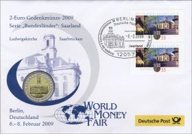 V-257.2 • Bundesland Saarland >World Money Fair