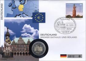 V-313 • Deutschland - Bremer Rathaus und Roland