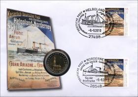 V-334 • Tag der Briefmarke - Helgoland Norderney