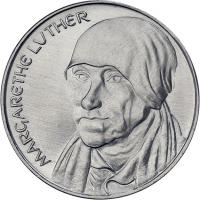 DDR-Medaille Margarethe Luther