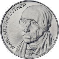 DDR-Medaille Margarethe Luther V-015