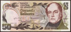 Venezuela P.58 50 Bolivares 1981 (2+)