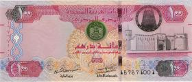VAE / United Arab Emirates P.30f 100 Dirhams 2014 (1)