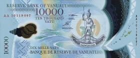 Vanuatu P.13 10000 Vatu (2010) Polymer