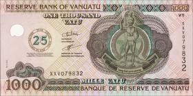 """Vanuatu P.11 1000 Vatu (2006) """"Jubiläum"""" (1)"""