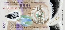 Vanuatu P.13 1000 Vatu (2014) Polymer