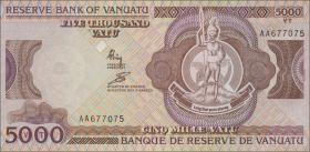 Vanuatu P.07a 5000 Vatu (1993) (1)