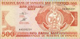 Vanuatu P.05a 500 Vatu (1993) (1)