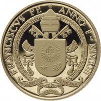Vatikan 20 + 50 Euro 2013 (Gold) Päpste der Renaissance