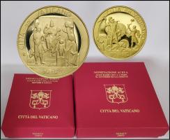 """Vatikan 20 + 50 Euro 2004 (Gold) Altes Testament """"Die Wurzeln des Glaubens"""""""
