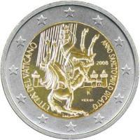 Vatikan 2 Euro 2008 Paulusjahr
