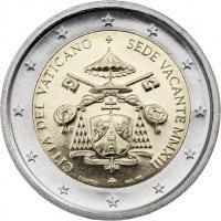 Vatikan 2 Euro 2013 Sedisvacanz / Sede Vacante