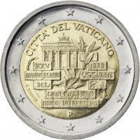 Vatikan 2 Euro 2014 25 J. Fall der Berliner Mauer