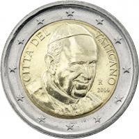 Vatikan 2 Euro 2014 Kursmünze Papst Franziskus