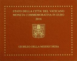 Vatikan 2 Euro 2016 Jubiläum der Barmherzigkeit