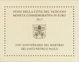 Vatikan 2 Euro 2017 St. Peter und Paul