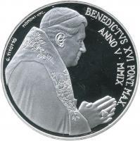 Vatikan 5 + 10 Euro 2009 Weltfriedenstag/ Vatikanstadt