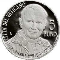 Vatikan 5 Euro 2011 Seligsprechung Johannes Paul II.