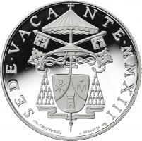 Vatikan 5 Euro 2013 Sede Vacante (Silber)