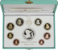 Vatikan Euro-KMS 2013 inkl.20 Euro Silber PP