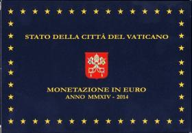 Vatikan Euro-KMS 2014 inkl. 20 Euro Silber PP