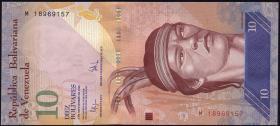 Venezuela P.90b 10 Bolivares 3.9.2009 (1)