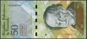 Venezuela P.92d 50 Bolivares 3.9.2009 (1)