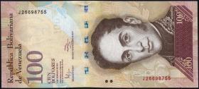 Venezuela P.93d 100 Bolivares 2011 (1)