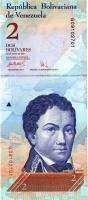 Venezuela P.88b 2 Bolivares 24.5.2007 (1)