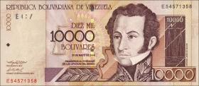 Venezuela P.85d 10000 Bolivares 2004 (1)