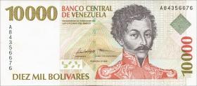 Venezuela P.81 10000 Bolivares 1998 (1)