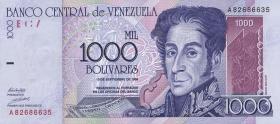 Venezuela P.79 1000 Bolivares 1998 (1)