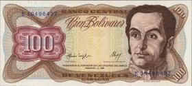 Venezuela P.66a 100 Bolivares 1987 (1)