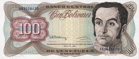Venezuela P.66d 100 Bolivares 1992 (1)