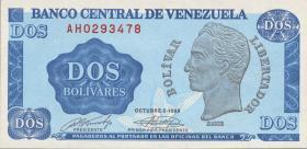 Venezuela P.69 2 Bolivares 1989 (1)