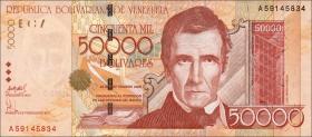 Venezuela P.87b 50000 Bolivares 2005 (1)